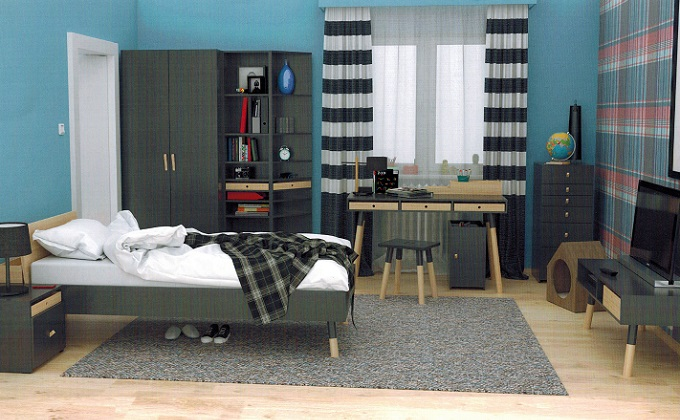 komplette jugendzimmer gibt es im qmm traumm bel shop. Black Bedroom Furniture Sets. Home Design Ideas