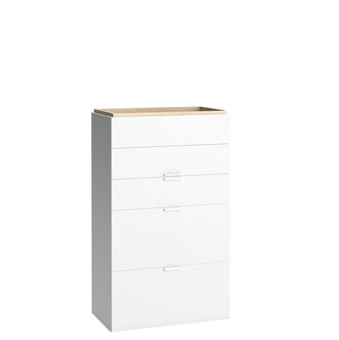kommode mit 5 schubladen calgary qmm traummoebel. Black Bedroom Furniture Sets. Home Design Ideas