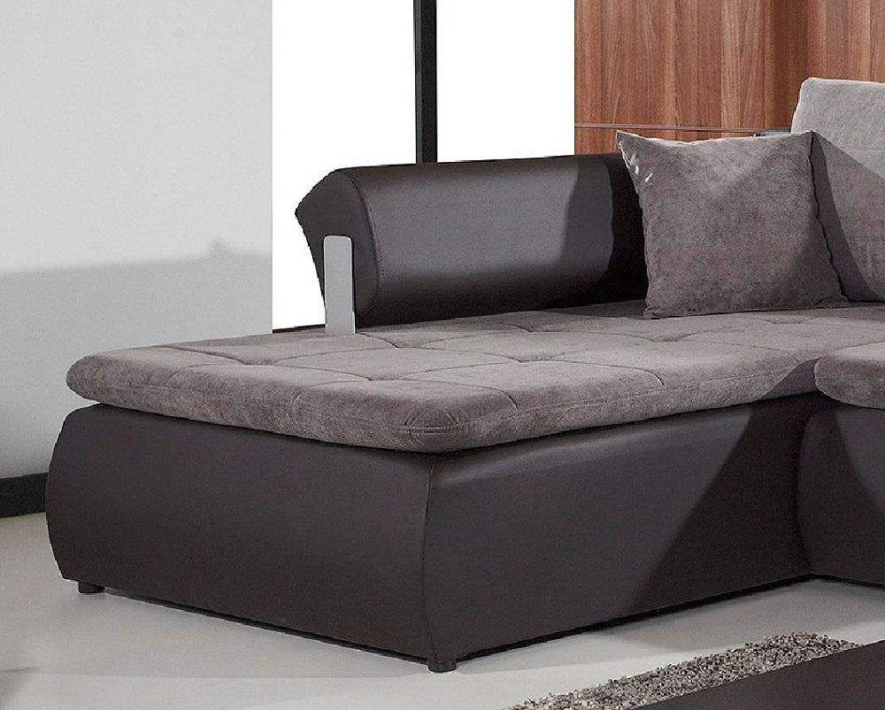 polsterecke ecksofa mit schlaffunktion linn qmm traummoebel. Black Bedroom Furniture Sets. Home Design Ideas