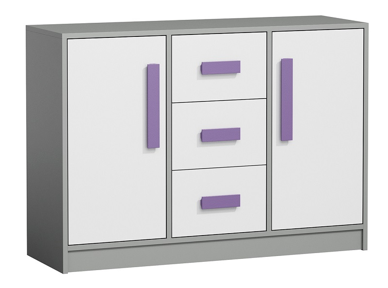 jugendzimmer kinderzimmer grant set b 8tg komplett 5 farben schrank kommode bett ebay. Black Bedroom Furniture Sets. Home Design Ideas