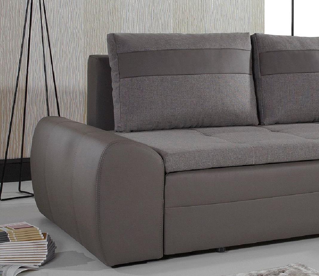 polsterecke ecksofa mit schlaffunktion fun qmm traummoebel. Black Bedroom Furniture Sets. Home Design Ideas