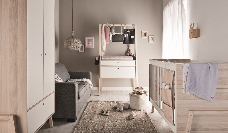 babyzimmer komplett indiana set qmm traummoebel. Black Bedroom Furniture Sets. Home Design Ideas