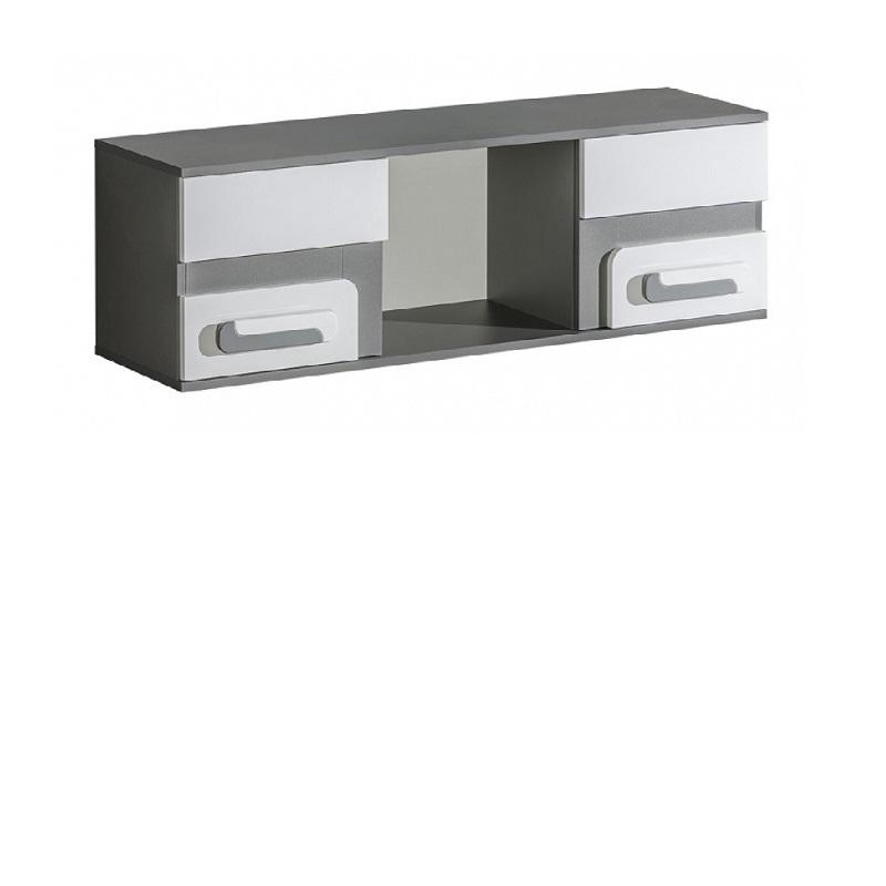 wandregal 120 mit t r alex qmm traummoebel. Black Bedroom Furniture Sets. Home Design Ideas