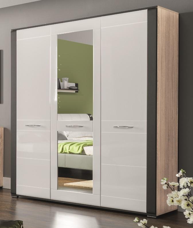 schrank 3 t rig nell qmm traummoebel. Black Bedroom Furniture Sets. Home Design Ideas
