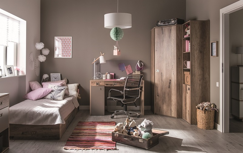 jugendzimmer kinderzimmer komplett karibik setc eckschrank bett schreibtisch reg ebay. Black Bedroom Furniture Sets. Home Design Ideas