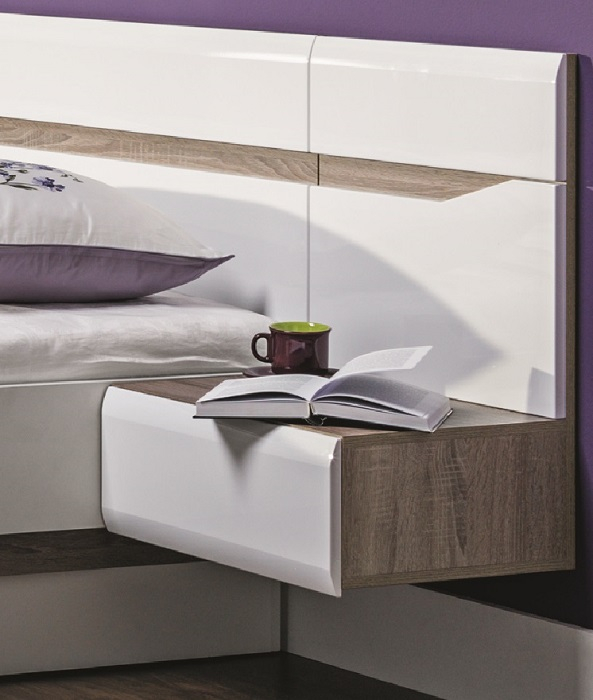 schlafzimmer komplett linn set c qmm traummoebel. Black Bedroom Furniture Sets. Home Design Ideas