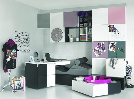 jugendzimmer komplett qmm traummoebel. Black Bedroom Furniture Sets. Home Design Ideas