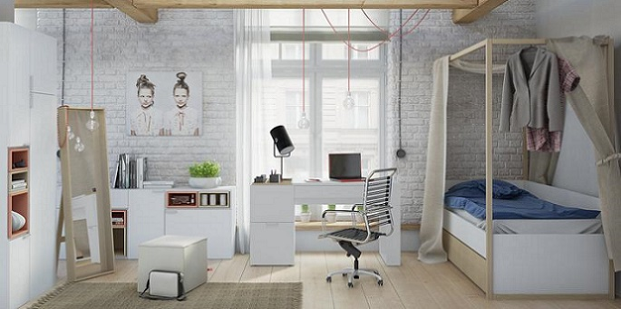 Jugendzimmer Komplettset