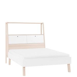 Doppelbett mit Behälter