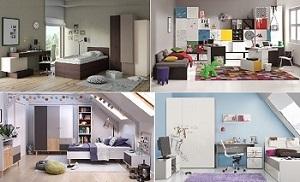 Jugendzimmer komplett Jugendzimmer Set hochwertig günstig QMM ...