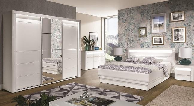 Komplette Schlafzimmer modern und günstig | QMM-TraumMöbel - QMM ...