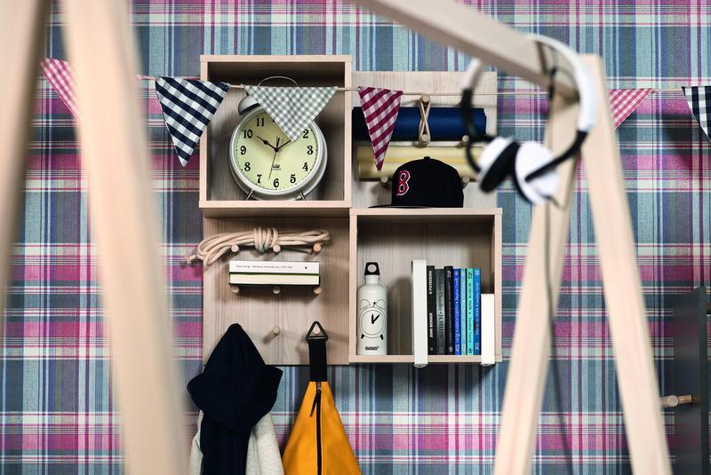 wandregal mit haken indiana qmm traummoebel. Black Bedroom Furniture Sets. Home Design Ideas