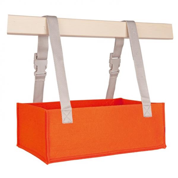Aufbewahrung Ordo horizontal orange