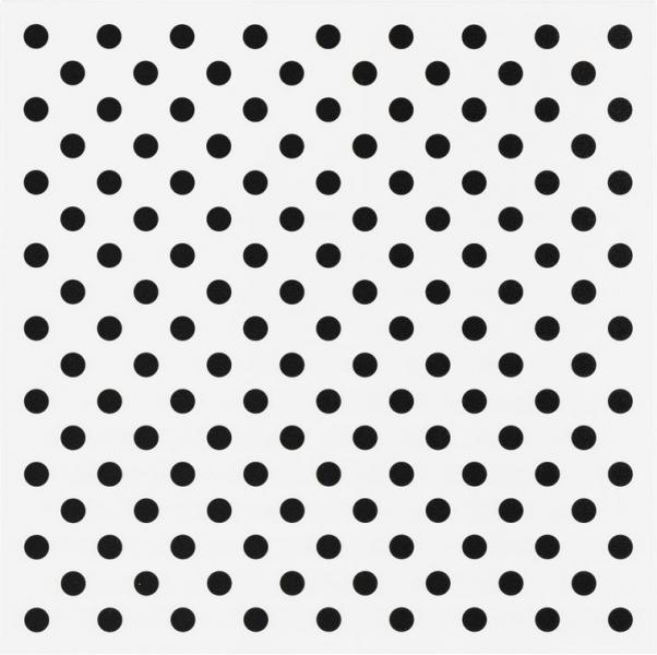Metallplatte Dots