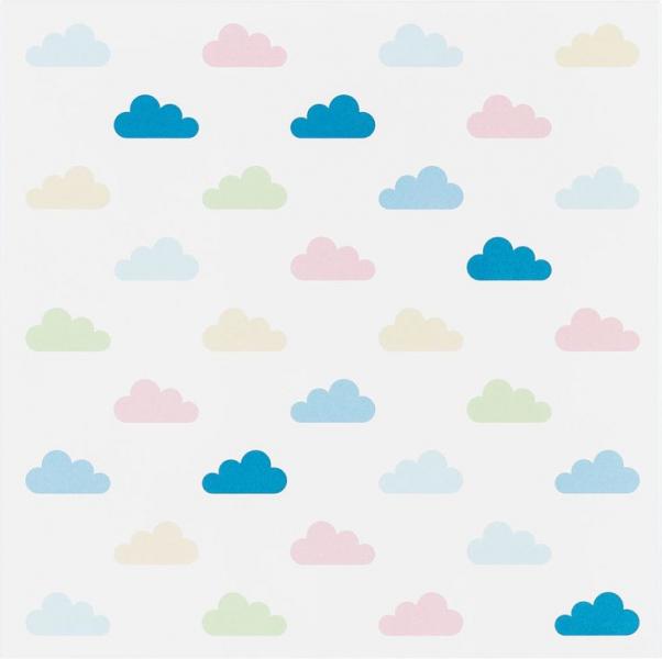 Metallplatte Clouds