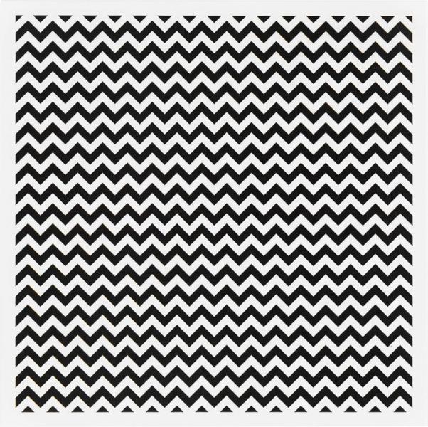 Metallplatte Waves