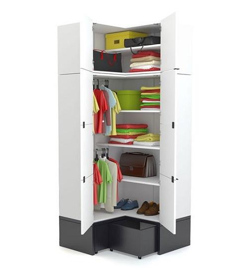 eckschrank aufsatz black white qmm traummoebel. Black Bedroom Furniture Sets. Home Design Ideas