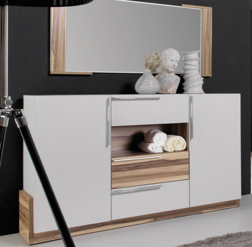 gro e kommode montana wei qmm traummoebel. Black Bedroom Furniture Sets. Home Design Ideas
