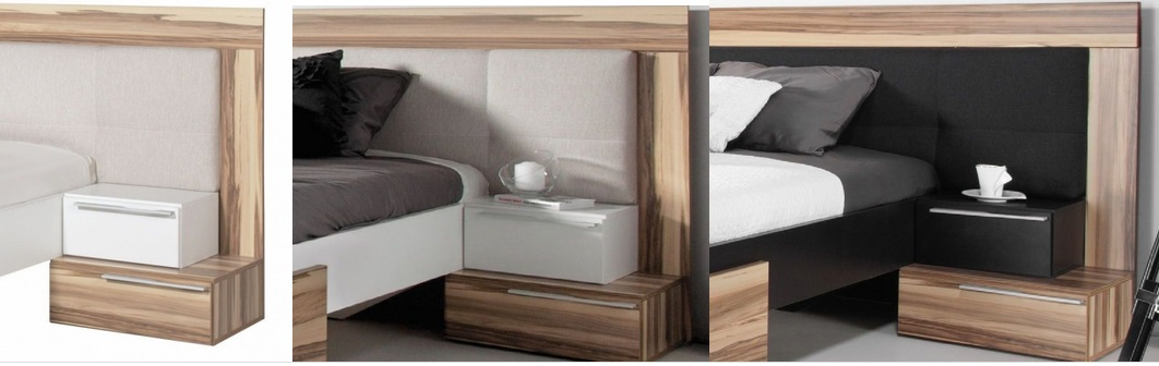 komplettes schlafzimmer set montana wei oder schwarz schrank bett nachttische ebay. Black Bedroom Furniture Sets. Home Design Ideas