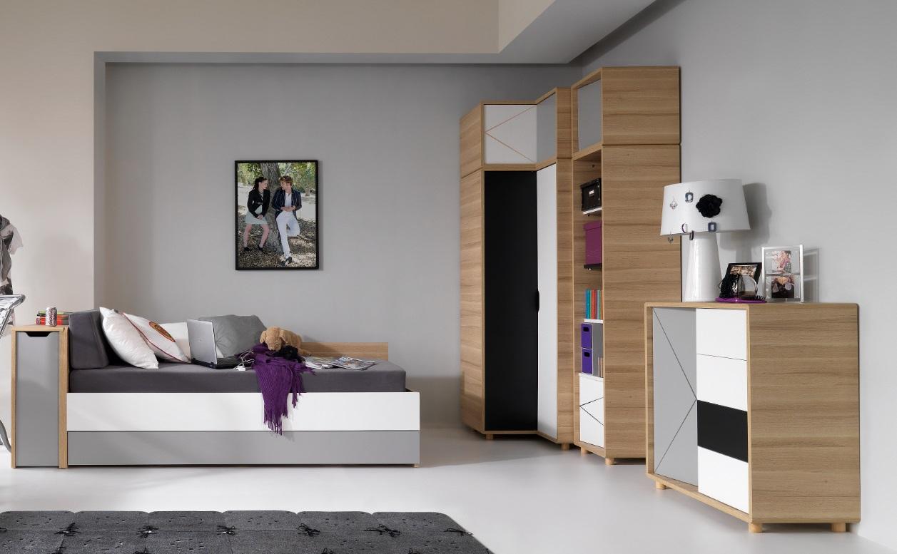 eckschrank 3 colors qmm traummoebel. Black Bedroom Furniture Sets. Home Design Ideas
