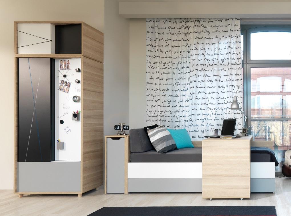 schrank 2 t rig 3 colors qmm traummoebel. Black Bedroom Furniture Sets. Home Design Ideas