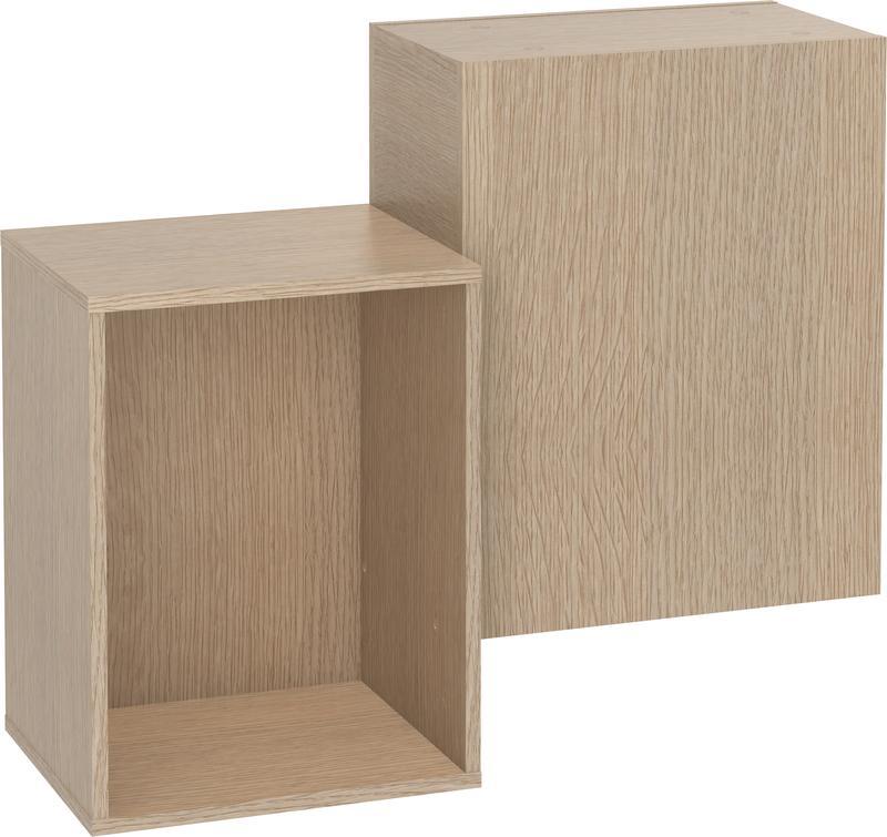 wandregal eiche calgary qmm traummoebel. Black Bedroom Furniture Sets. Home Design Ideas