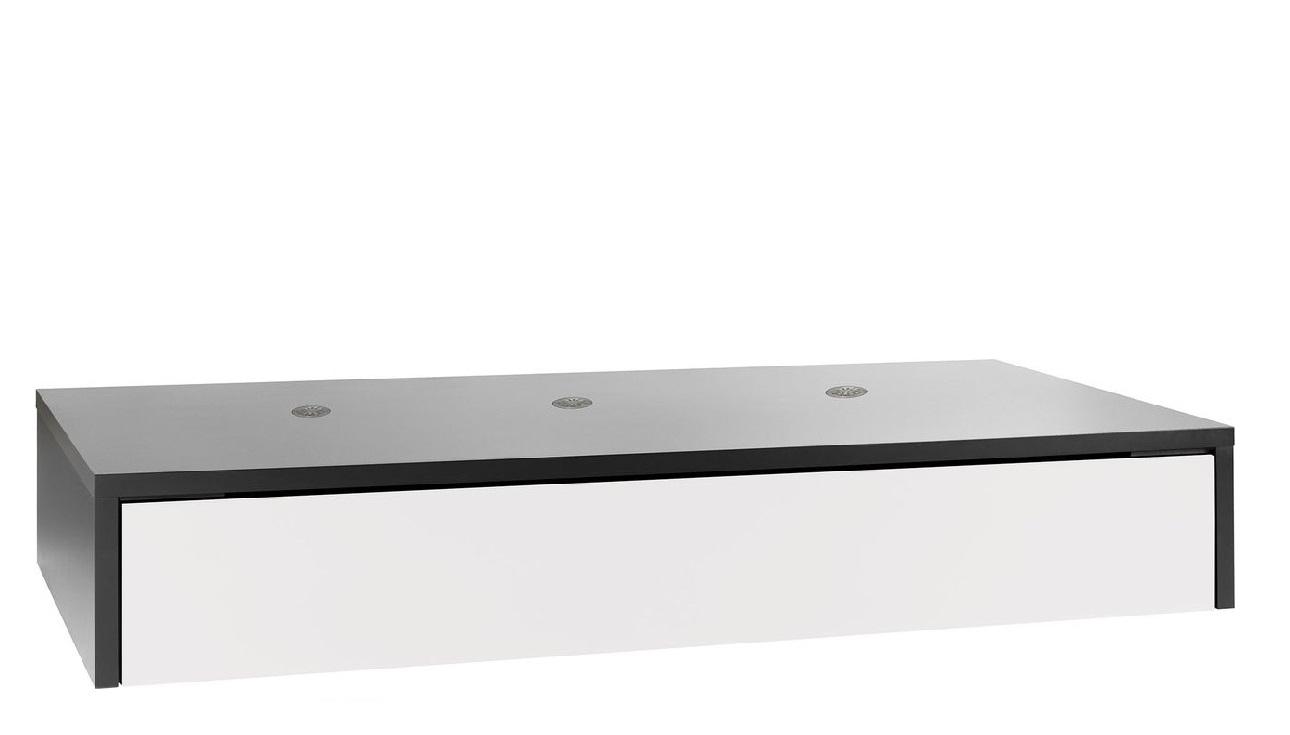 podestelement f r tagesbettgestell mit bettkasten qmm. Black Bedroom Furniture Sets. Home Design Ideas