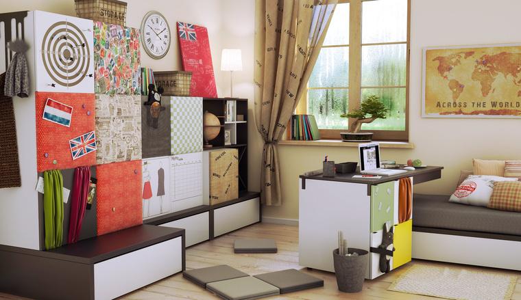podestelement f r tagesbettgestell mit bettkasten qmm traummoebel. Black Bedroom Furniture Sets. Home Design Ideas