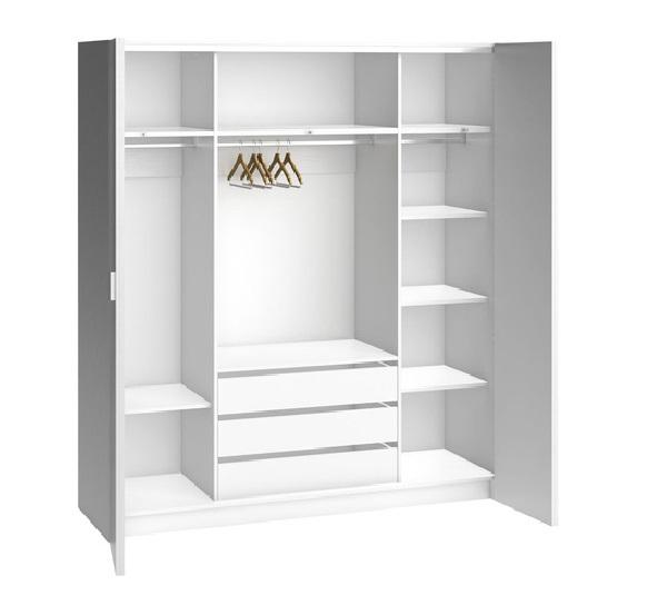 schrank 4 t rig h206 calgary qmm traummoebel. Black Bedroom Furniture Sets. Home Design Ideas