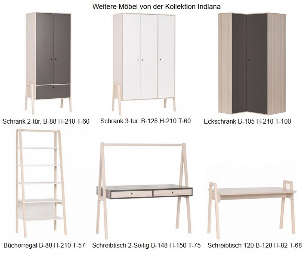 wandregal indiana qmm traummoebel. Black Bedroom Furniture Sets. Home Design Ideas