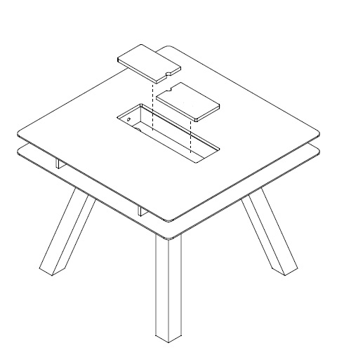 tisch 100x100 weiss calgary qmm traummoebel. Black Bedroom Furniture Sets. Home Design Ideas