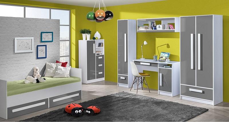 jugendzimmer komplett gerome set c qmm traummoebel. Black Bedroom Furniture Sets. Home Design Ideas