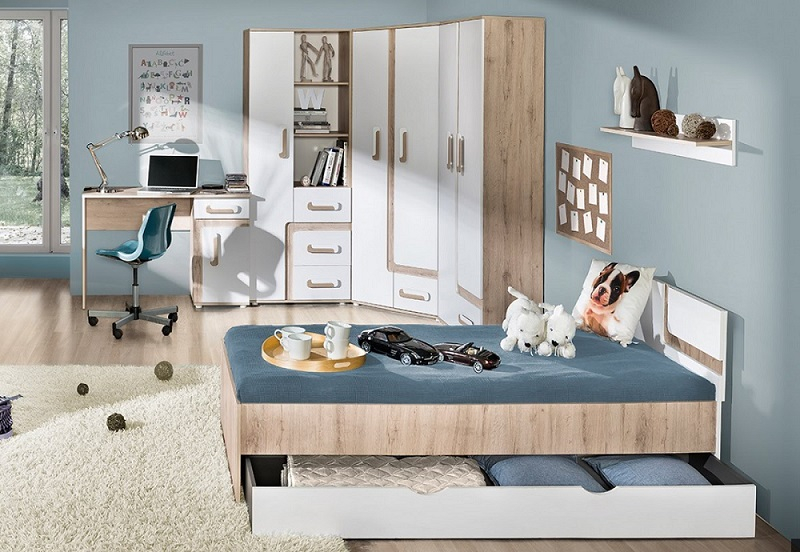 jugendzimmer komplett 8 tlg alex set f qmm traummoebel. Black Bedroom Furniture Sets. Home Design Ideas