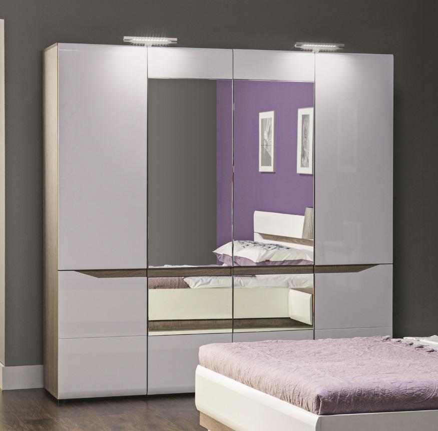 led doppelbeleuchtung f r schr nke linn qmm traummoebel. Black Bedroom Furniture Sets. Home Design Ideas