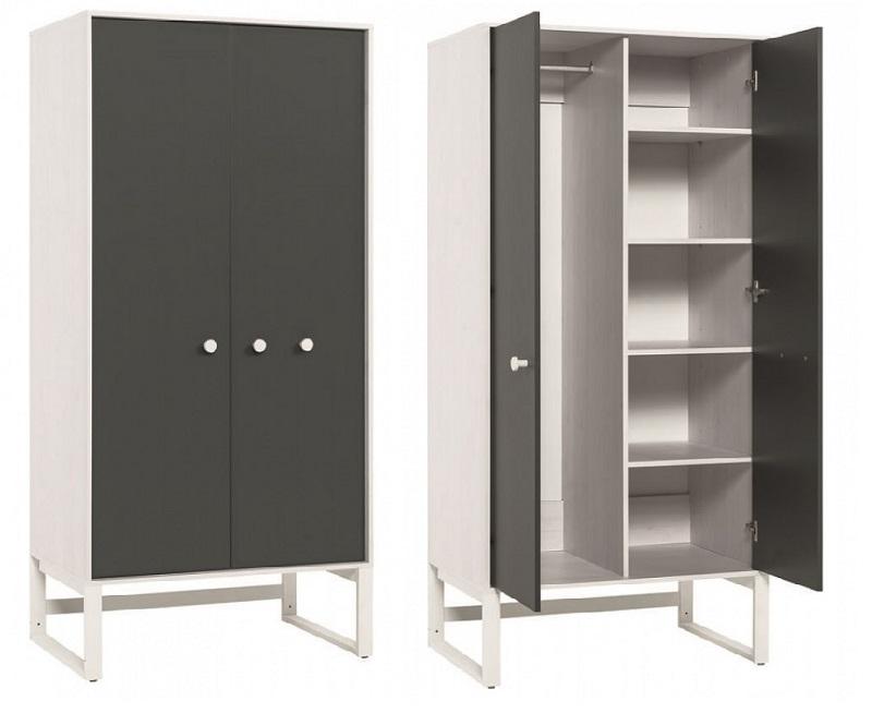 schrank 2 t rig nevis qmm traummoebel. Black Bedroom Furniture Sets. Home Design Ideas