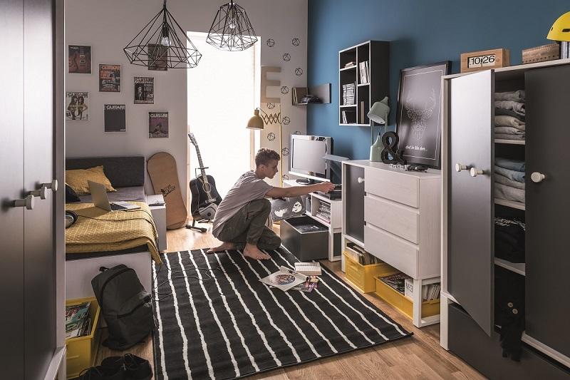 jugendzimmer komplett set b nevis qmm traummoebel. Black Bedroom Furniture Sets. Home Design Ideas