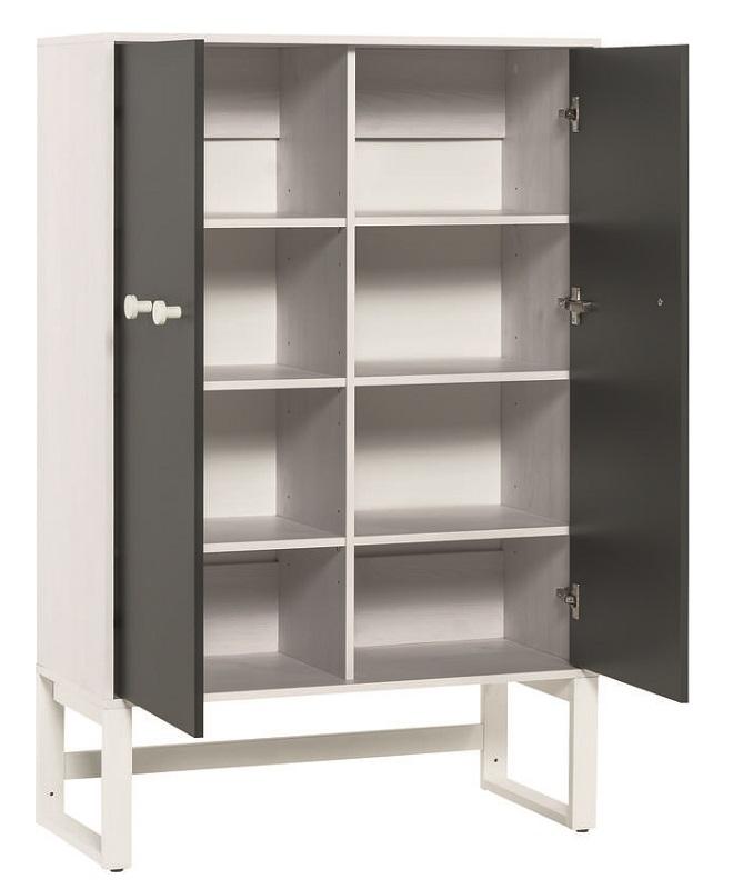 hohe kommode nevis qmm traummoebel. Black Bedroom Furniture Sets. Home Design Ideas
