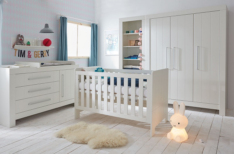 Babyzimmer komplett  Babyzimmer komplett Cannes Set C - QMM TraumMoebel