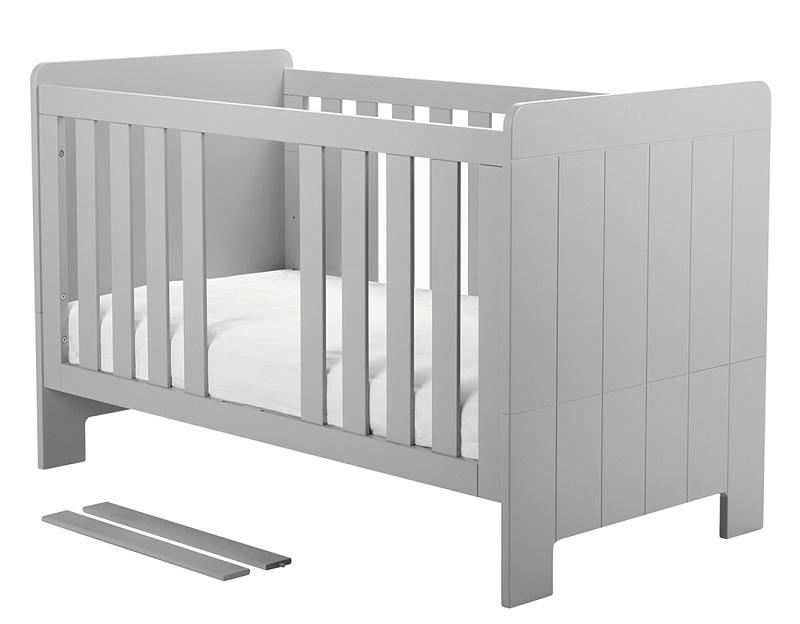 Babyzimmer komplett grau  Babyzimmer komplett Cannes Set C - QMM TraumMoebel