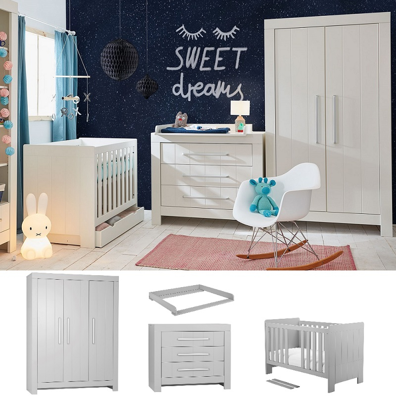 babyzimmer komplett cannes set b qmm traummoebel. Black Bedroom Furniture Sets. Home Design Ideas