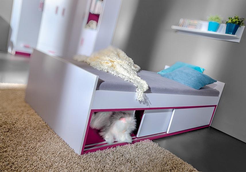 bett 200x90 thiago qmm traummoebel. Black Bedroom Furniture Sets. Home Design Ideas