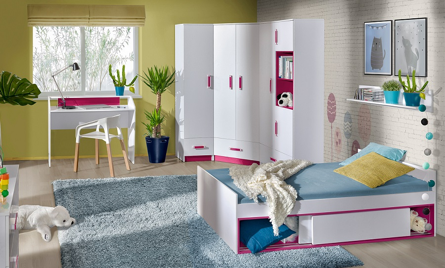 jugendzimmer komplett thiago set c qmm traummoebel. Black Bedroom Furniture Sets. Home Design Ideas