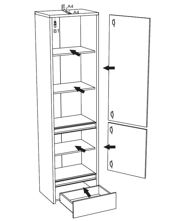 jugendzimmer komplett forest set b qmm traummoebel. Black Bedroom Furniture Sets. Home Design Ideas