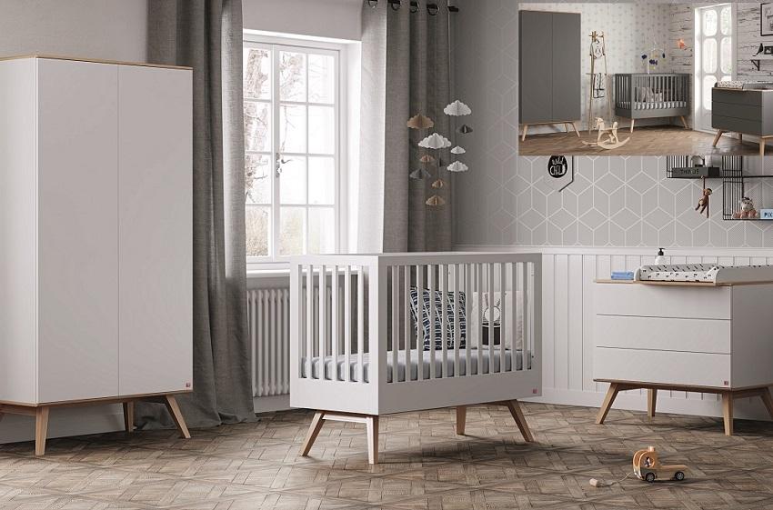 Babyzimmer komplett 4-tlg. Nils - QMM TraumMoebel