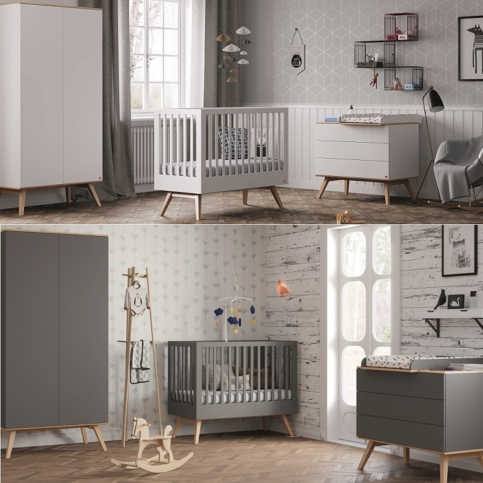Babyzimmer | Babyzimmer Komplett 4 Tlg Nils Qmm Traummoebel