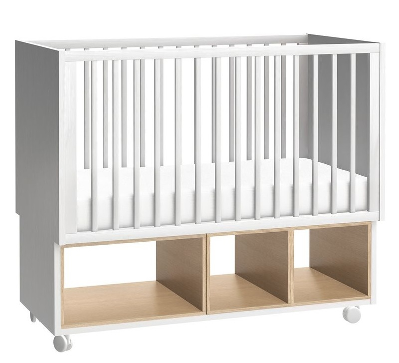 babybett 120x60 calgary qmm traummoebel. Black Bedroom Furniture Sets. Home Design Ideas