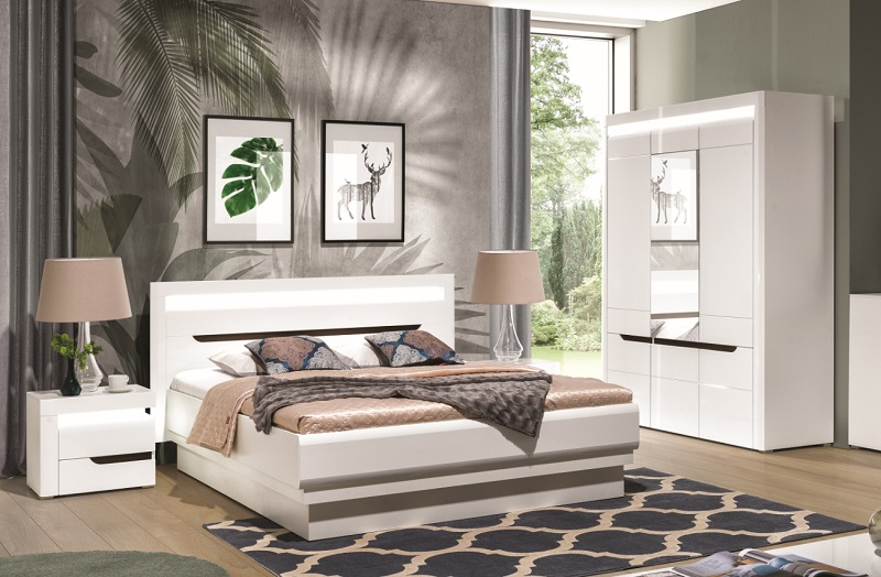 schlafzimmer komplett iris set a qmm traummoebel. Black Bedroom Furniture Sets. Home Design Ideas