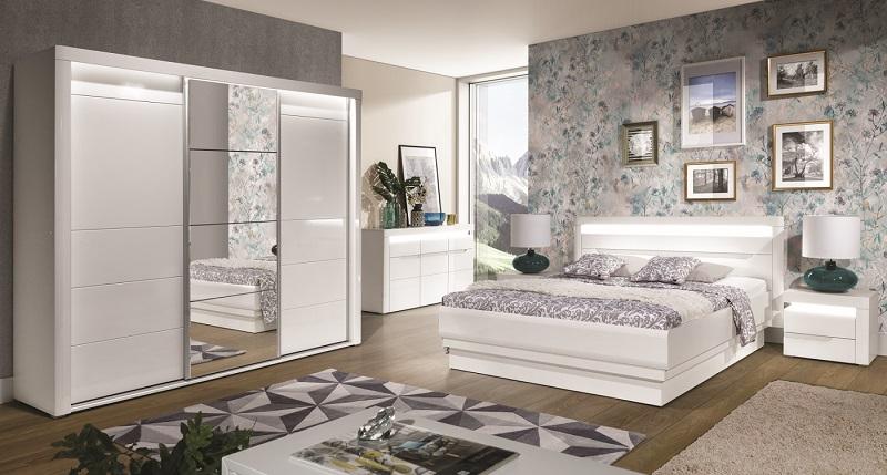 schlafzimmer komplett iris set b qmm traummoebel. Black Bedroom Furniture Sets. Home Design Ideas