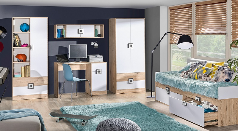 jugendzimmer komplett nicki set b qmm traummoebel. Black Bedroom Furniture Sets. Home Design Ideas