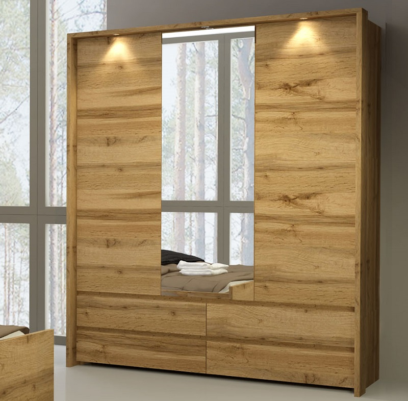 leisten mit led zum schrank forest qmm traummoebel. Black Bedroom Furniture Sets. Home Design Ideas